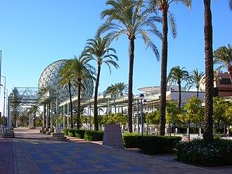 Isla de La Cartuja - Bioclimatic sphere of the Expo '92.