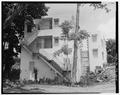 Exterior elevation looking east - 1166 Ponce de Leon Avenue (House), Rio Piedras, San Juan Municipio, PR HABS PR,7-RIOPI,3-4.tif
