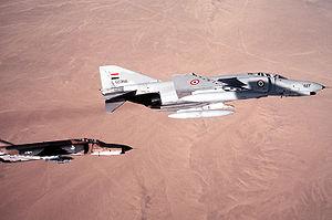 McDonnell Douglas F-4 Phantom II non-U.S. operators - AREAF F-4E Phantom II