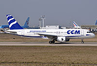 F-HBEV - A320 - Air Corsica