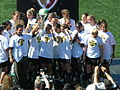 FC Gold Pride pose with 2010 WPS Championship Trophy 5.JPG