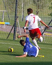 FC Liefering vs. Creighton University 03.JPG