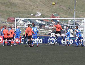 Skála ÍF - Skála vs. FC Suðuroy in the Faroe Islands Cup 2012
