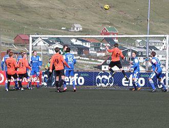 FC Suðuroy - FC Suðuroy vs Skála ÍF in the 2012 Faroe Islands Cup
