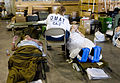 FEMA - 38235 - A DMAT team member checks on a patient being evacuated from Corpus Christi, TX.jpg