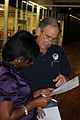 FEMA - 41999 - FEMA PIO Speaks with State Representative at Cobb Co. DRC.jpg