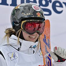 FIS Moguls World Cup 2015 Finals - Megève - 20150315 - Justine Dufour-Lapointe 2.jpg