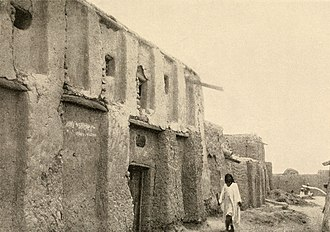 Heinrich Barth - Heinrich Barth's house in Timbuktu (in 1908 before its collapse)