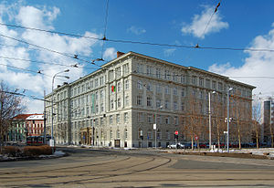 German Technical University in Brno - The second building was built up and added in 1910