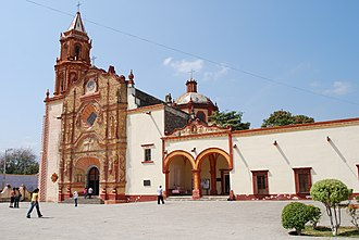 Jalpan de Serra - The mission in the town of Jalpan