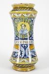 Fajans, Apoteksburk. 1500-tal - Hallwylska museet - 90375.tif