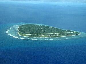 Falalop Airfield - Image: Falalop Island Ulithi Atoll