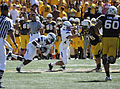 Falcons intercept pass at Air Force at Wyoming 2010-09-25.JPG