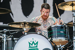 Andy Hurley - Image: Fall Out Boy Rock im Park 2014 by 2eight 3SC9693