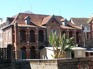 Andriana - Image: Fancy Malagasy Brick House in Antananarivo Madagascar