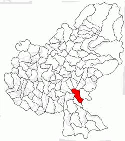 Vị trí của Fântanele