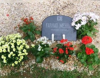 Farhad Mehrad - Tomb of Farhad at Thiais, Departement of Val-de-Marne, Île-de-France in France