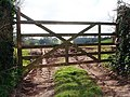 Farm gate, Hook Bottom, Greenway Road - geograph.org.uk - 368889.jpg