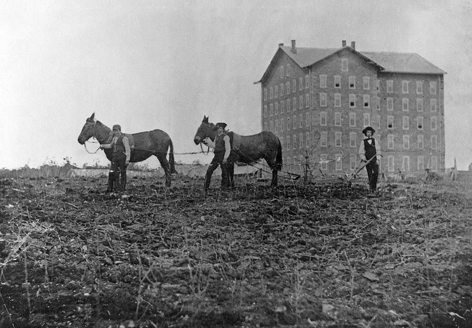 Farmer's High School and Old Main
