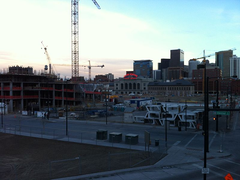 FasTracks Denver Union Station construction (8275258599).jpg