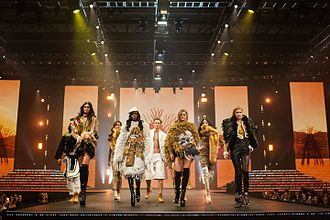 Clothes Show Live - Models in the Fashion Theatre