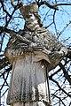 Fehérgyarmat, templomkerti Nepomuki Szent János-szobor 2021 09.jpg