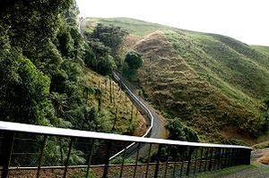 Ecological island - Xcluder pest-exclusion fence around perimeter of Maungatautari.