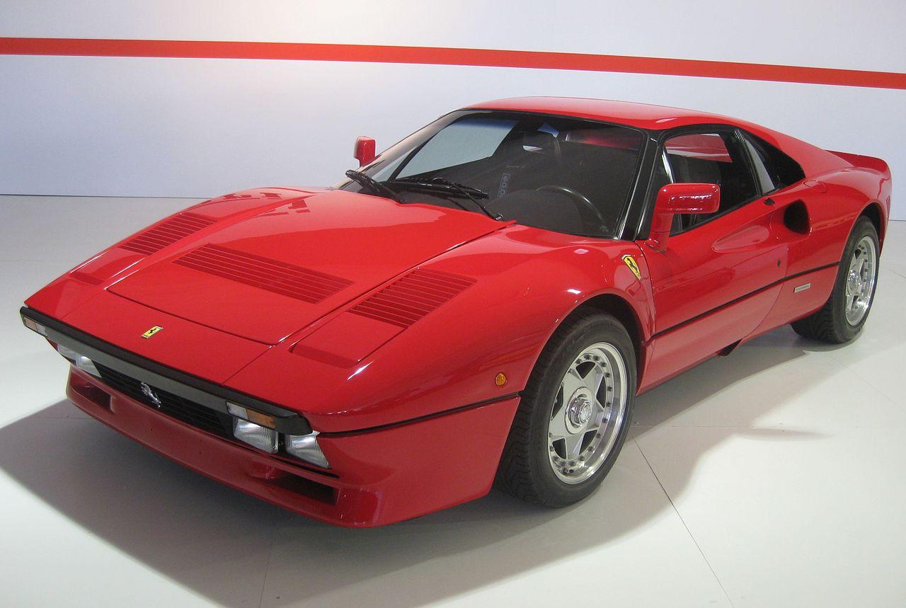 Best Ferrari Models: Ferrari 288 GTO