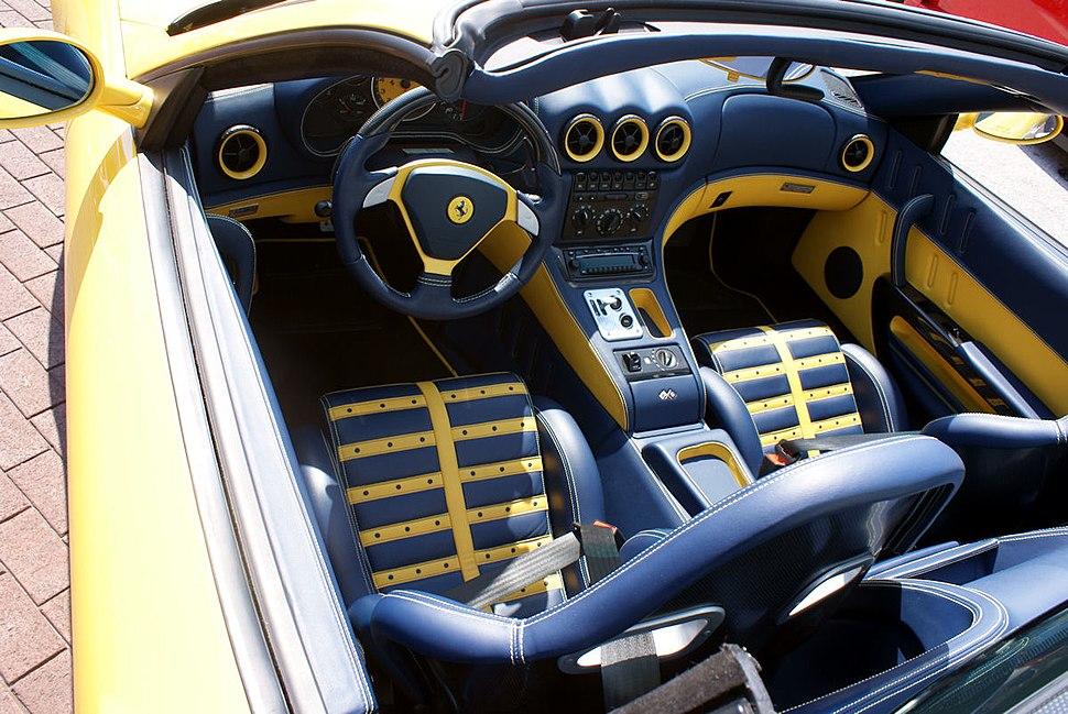 Ferrari 575M 2005 Superamerica Cockpit CECF 9April2011 (14414484707)