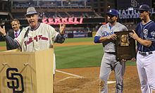Ferrell addresses the crowd (21010949020).jpg