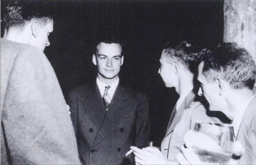 Feynman and Oppenheimer at Los Alamos