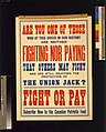 Fight or pay. Subscribe now to the Canadian Patriotic Fund LCCN2005691253.jpg