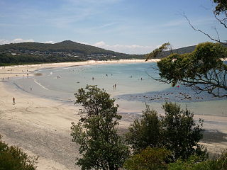 Fingal Bay, New South Wales Suburb of Port Stephens Council, New South Wales, Australia