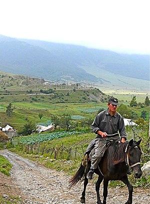 Molokan - A Molokan villager in Fioletovo, Armenia