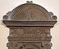 Firenze, santa maria ausiliatrice, interno, tabernacolo frammentario (restaurato), attribuito a michelozzo 02.jpg