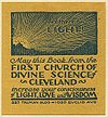 Book plate from the First Church of Divine Science