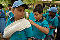First Aid and Emergency Management Session - Summer Camp - Nisana Foundation - Sibpur BE College Model High School - Howrah 2013-06-08 9191.JPG