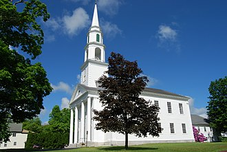 Mendon, Massachusetts - First Church, Mendon
