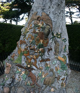 Fitzroy Gardens - Fairies Tree in the Fitzroy Gardens.