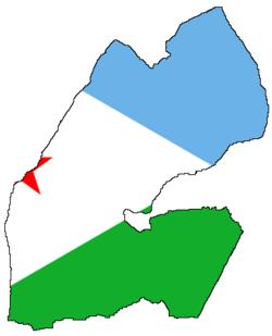 صور علم جيبوتي 250px-Flag-map_of_Djibouti