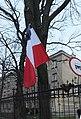 Flaga z kirem adamowicz warszawa.jpg