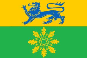 Handewitt - Image: Flagge Handewitt