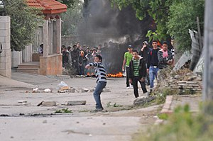 Flickr - Israel Forces - Palestinian demonstrators in El-Arrub (1).jpg