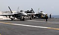 Flickr - Official U.S. Navy Imagery - A jet prepare to launch from the flight deck..jpg