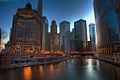 Flickr - Shinrya - Downtown Chicago Skyline HDR.jpg