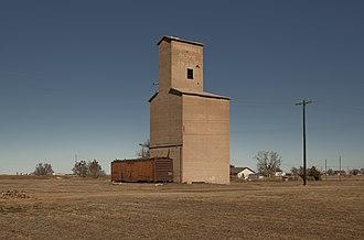 Floyd County, Texas - Image: Floydada Texas Marshall Grain Elevator