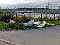 Flytipping near West Middle Mere Road - geograph.org.uk - 185399.jpg