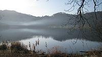 Fog Rising Off The Lake