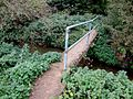 Footbridge on the footpath to Bag Enderby - geograph.org.uk - 577654.jpg