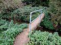 Footbridge on the footpath to Bag Enderby - geograph.org.uk - 577654.jpg
